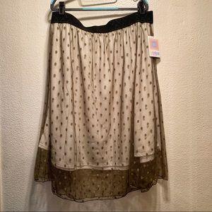 LuLaroe Polka Dot LOLA Skirt